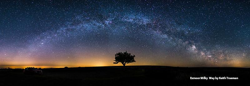 Exmoor Milky Way c Kieth Trueman