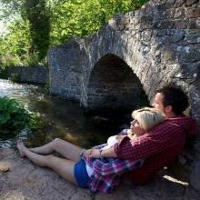 Couple at Lover's Bridge