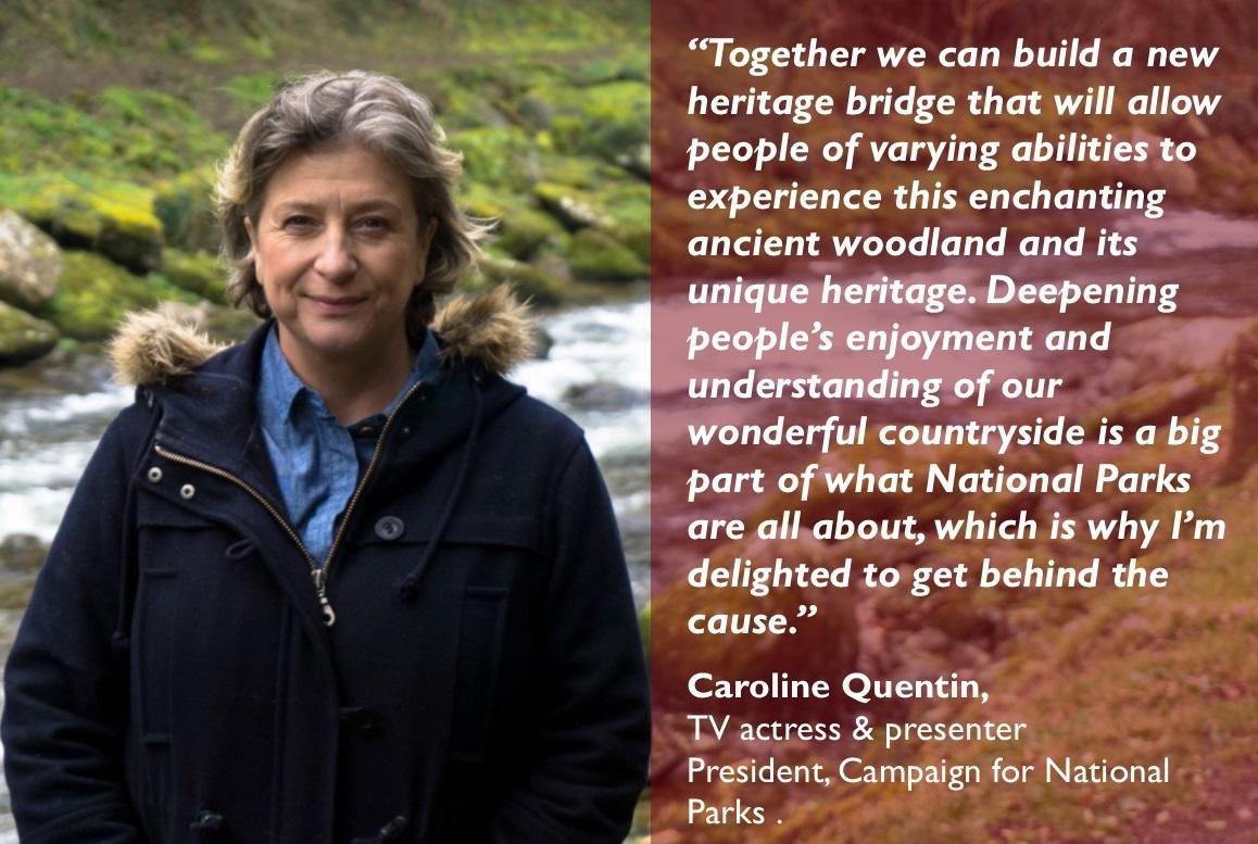 Caroline Quentin support
