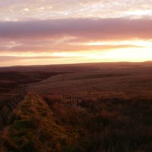 Sunrise at Larkbarrow