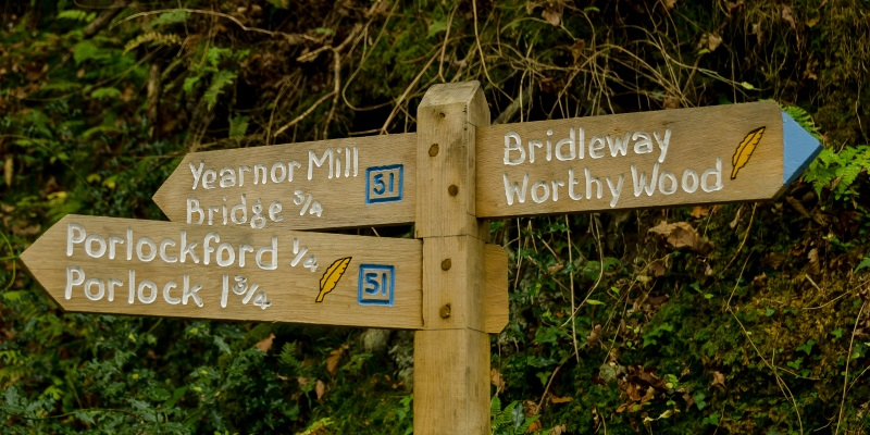Coleridge way sign