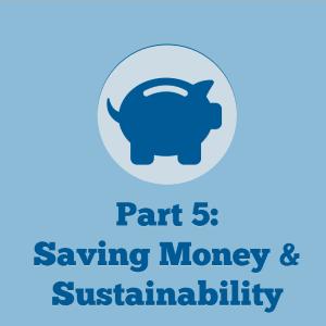 Saving Money and Sustainability