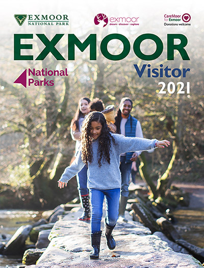 Exmoor Visitor 2021 cover