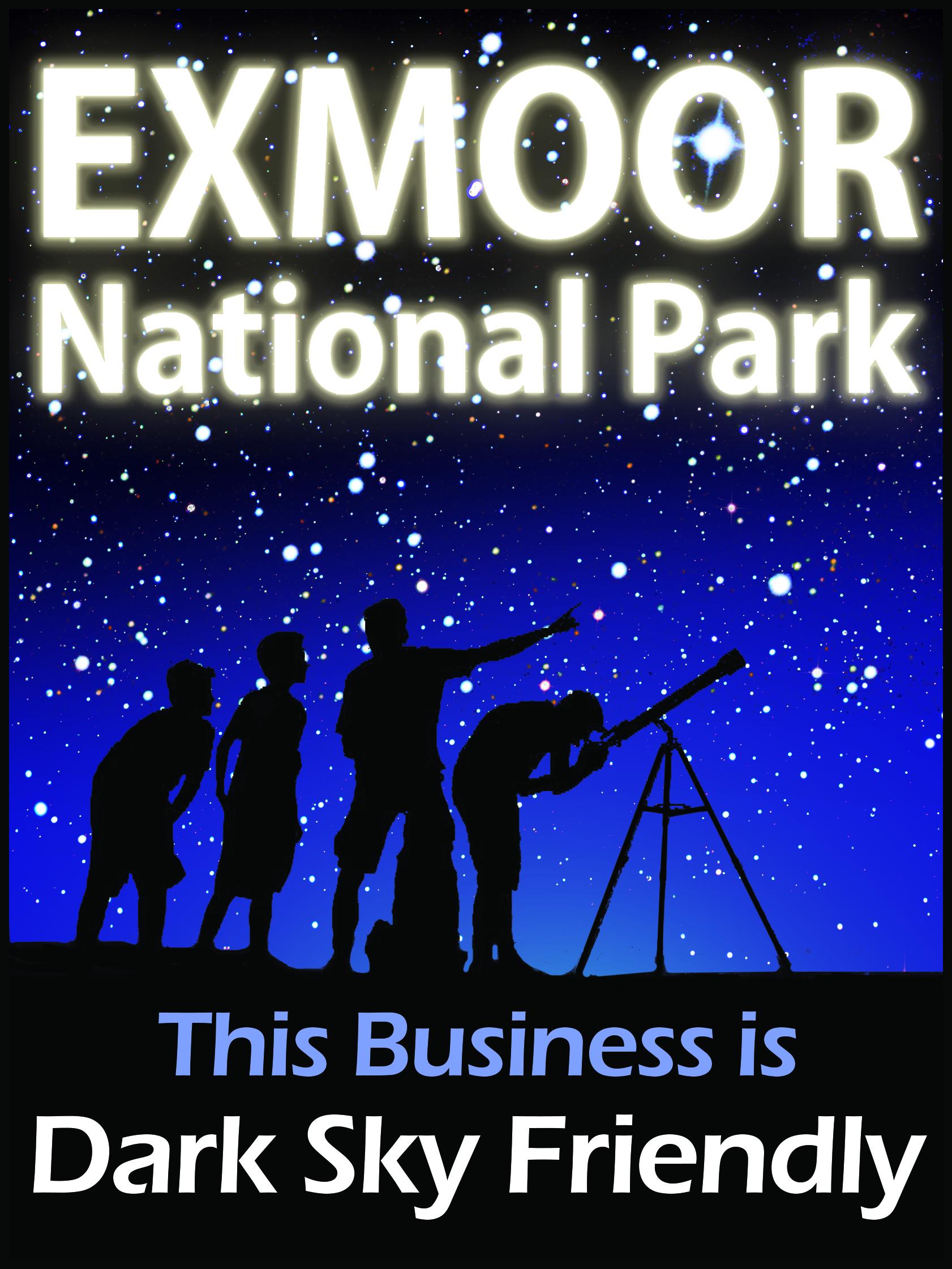 Exmoor Dark Sky Friendly Businesses