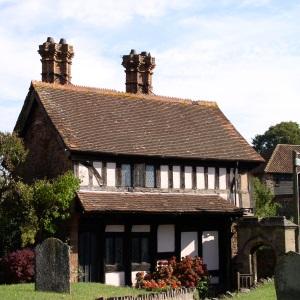Dunster church yard