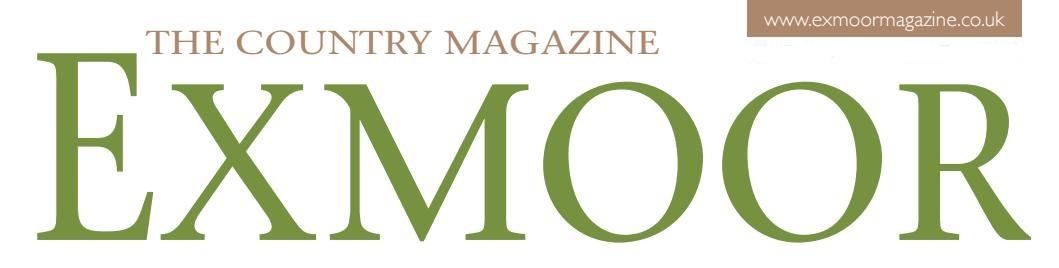CareMoor Sponsor - Exmoor Magazine
